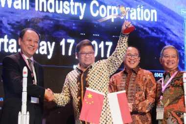 Indosat Ooredoo dan PSN Tanda Tangani Pembelian Satelit Palapa-N1