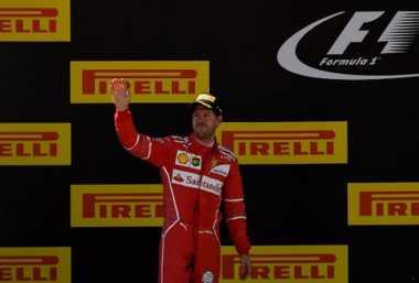 Tampil Kompetitif Musim Ini, Vettel Adalah Kunci Sukses Ferrari di F1 2017