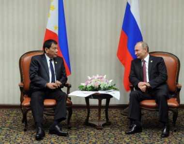 Duterte Kunjungi Rusia untuk Bertemu Idolanya, Presiden Putin