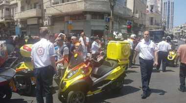 Sejam Sebelum Trump Tiba, Mobil Hantam Pejalan Kaki di Tel Aviv