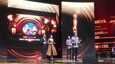 iNews Maker Award 2017, Tontowi/Liliyana Raih Penghargaan Kategori Insan Olahraga