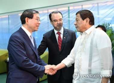 Korsel Minta Bantuan Presiden Filipina Terkait Denuklirisasi Korut