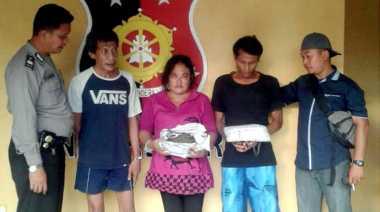 Duh...  Ibu Rumah Tangga Selundupkan 2 Kg Ganja ke Rutan Tanjung Gusta