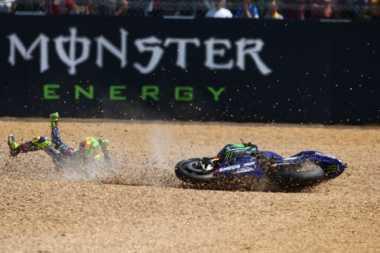 Sesali Kegagalannya di GP Prancis, Rossi Tak Tahu Apa yang Terjadi