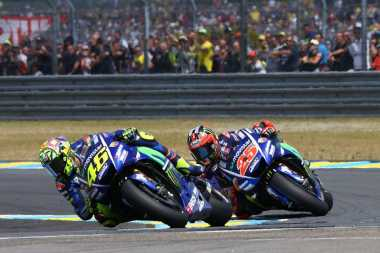 Kalah dari Rekan Satu Tim, Rossi: Sulit Bersaing dengan Vinales