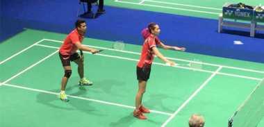 Kalah dari Rankireddy/Ponnappa, Gloria/Tontowi Gagal Sumbang Poin Pertama bagi Indonesia