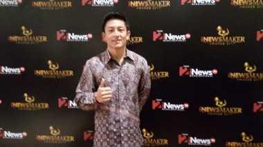 Sambangi iNews Maker Awards 2017, Rio Haryanto: Saya Ingin Mencetak Sejarah Baru bagi Indonesia