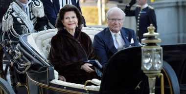 Alunan Angklung Iringi Jamuan Makan Siang Raja Swedia dengan Ridwan Kamil