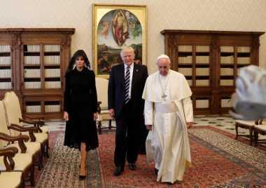 Trump Temui Paus Fransiskus, Roma Dijaga Ketat