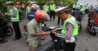 Selama Operasi Patuh, Polresta Bogor Kota Tilang 10.538 Pengendara