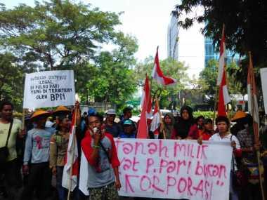 3 Temannya Ditahan, Kelompok Nelayan Pulau Pari Datangi Ombudsman