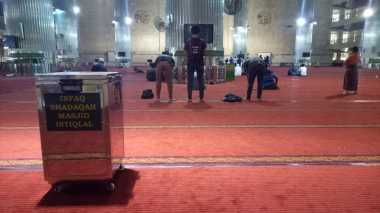 Selama Ramadan, Masjid Istiqlal Sediakan 3.000-5.000 Takjil per Hari