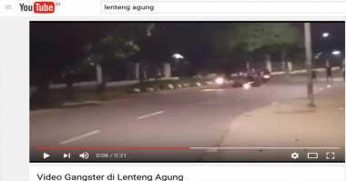Polisi Selidiki Video Gangster Serang Pemotor di Lenteng Agung