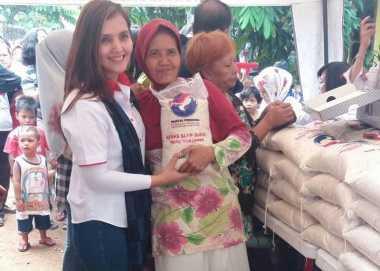 Wow, Bazar Murah Perindo Diserbu Warga Ciracas