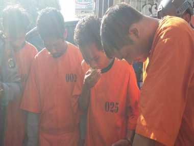 Akhirnya.. 18 Kali Jambret Wisatawan Asing, Geng Pencuri di Kuta Diringkus Polisi