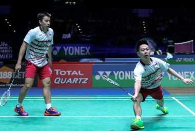 Marcus/Kevin Gagal Sumbang Poin, Denmark Perkecil Ketertinggalan 2-1