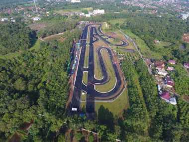 Sirkuit Manggul, Persembahan Bupati Lahat Aswari Riva'i Dukung Asian Games 2018