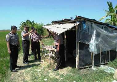 Jelang Ramadan, Gubuk Esek-Esek Bertarif Murah Tepi Sungai Disisir Polisi