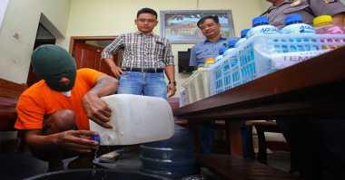 Jelang Ramadan, Polisi Sita 4 Ribu Liter Tuak di Indramayu