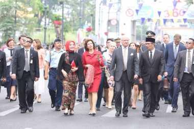 Raja dan Ratu Swedia Kunjungi Bandung, Ridwan Kamil Jamu Makan Siang