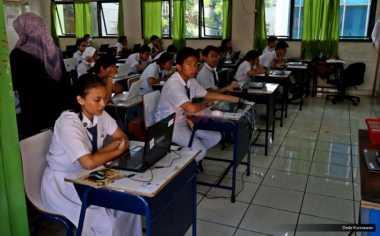 9 Siswa SMP di Padang Ikuti Ujian Nasional Susulan