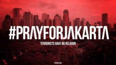 Bom Kampung Melayu, Simpati Warganet Mengalir Melalui Tagar #PrayForJakarta