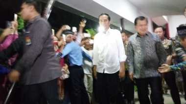 Jenguk Korban Bom Kampung Melayu, Jokowi-JK Sambangi RS Polri