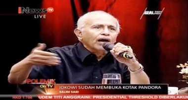 Salim Said: Kejatuhan Rezim Orde Baru karena Krisis Ekonomi
