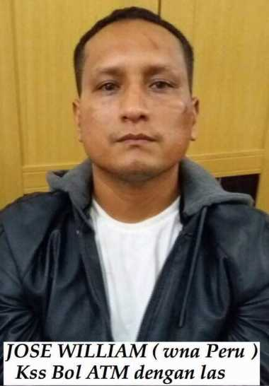 Kabur dari Sel Pengadilan Bali, WN Peru Terdakwa Pembobolan ATM Ditangkap di Riau