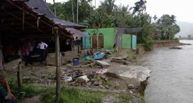 BPBD Normalisasi Tanggul Antisipasi Banjir di Halmahera Barat