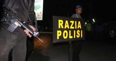 Polisi Gelar Razia Cipta Kondisi di Singkawang Jelang Ramadan