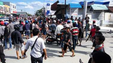 Informasi Hoax Picu Kericuhan di Padang Bulan Jayapura