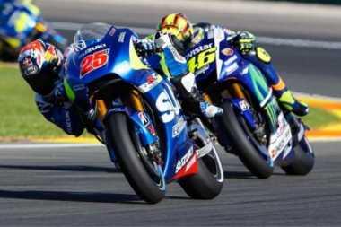 Vinales Tak Merasa Curangi Rossi di Le Mans