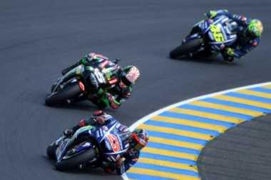 Meski Gagal Finis di Le Mans, Valentino Rossi Dipuji Vinales