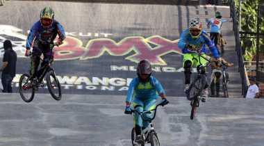 Jelang Tampil di SEA Games 2017, Timnas BMX Indonesia Adakan Try Out