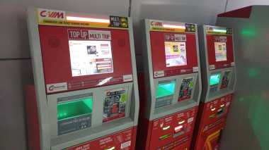 Volume Penumpang Tembus 1 Juta, PT KCJ Tambah Vending Machine Baru