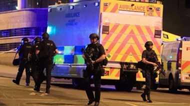 Foto-foto Bom Manchester Bocor, Kepolisian Inggris Murka