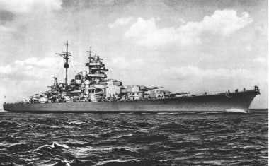 HISTORIPEDIA: Tenggelamkan Kapal Bismarck, Inggris Pupuskan Harapan Hitler