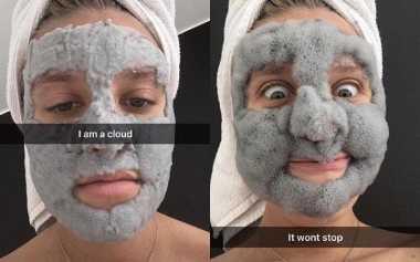 Gemas! Masker Awan, Tren Kecantikan yang Lagi Viral di Instagram