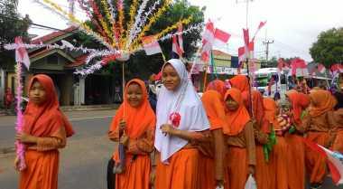 Pawai Obor dan Khataman Alquran Sambut Ramadan di Tangerang