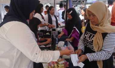 Jelang Ramadan, Kartini Perindo Gelar Bazar Murah di Tangerang