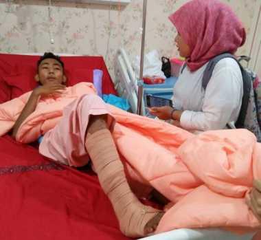 Suntikan Semangat dari Jokowi Bikin Korban Bom Tambah Kuat