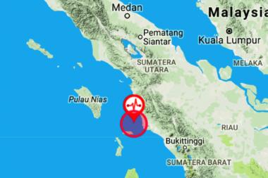 Gempa 5,2 SR Guncang Mandailing Natal, Tak Berpotensi Tsunami
