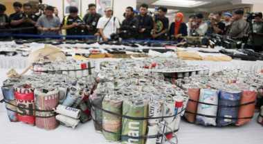 Jelang Ramadan, Polres Agam Razia Petasan dan Miras