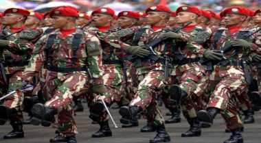 Wuidih.. Kopassus Latih Puluhan Prajurit Korem Tangani Ular Berbisa