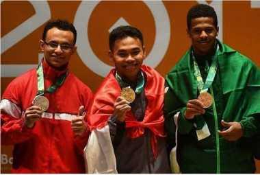 Raih Medali di ISG 2017, Eko Yuli Irawan Dkk Diguyur Bonus