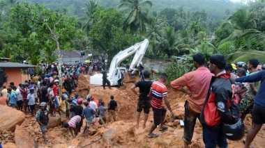 Korban Tewas Banjir Sri Lanka Tembus 100 Orang