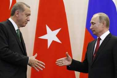 Putin dan Erdogan Sepakat Jalin Kemitraan Rusia-Turki yang Lebih Kuat