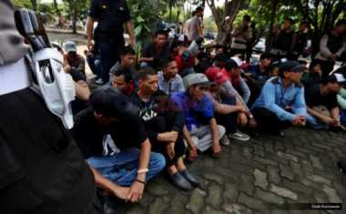 Polresta Tangerang Gelar Operasi Penertiban Preman