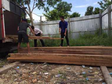 Muat Kayu Tanpa Dokumen Resmi, Polisi Gerebek Lokasi Illegal Logging